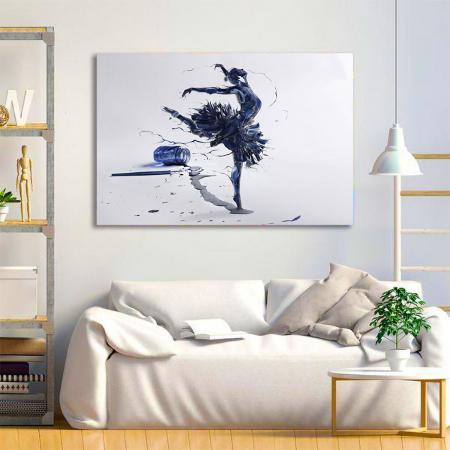 Tablou Canvas - Inked Balerina [1]
