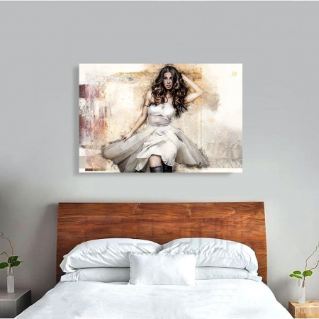 Tablou Canvas - Realistic sketch1