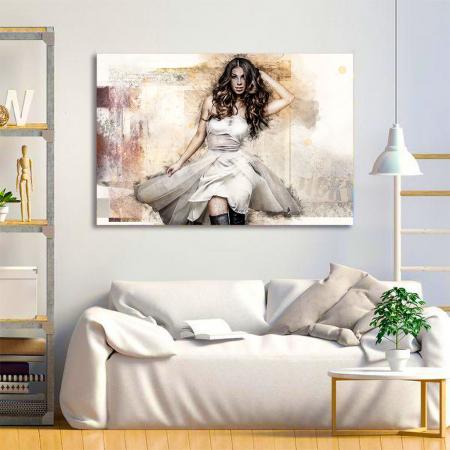 Tablou Canvas - Realistic sketch2