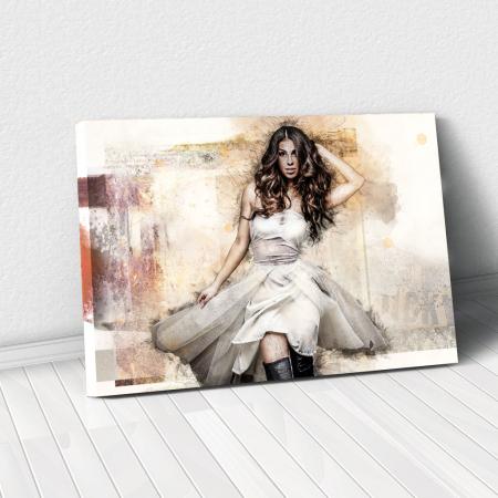 Tablou Canvas - Realistic sketch0