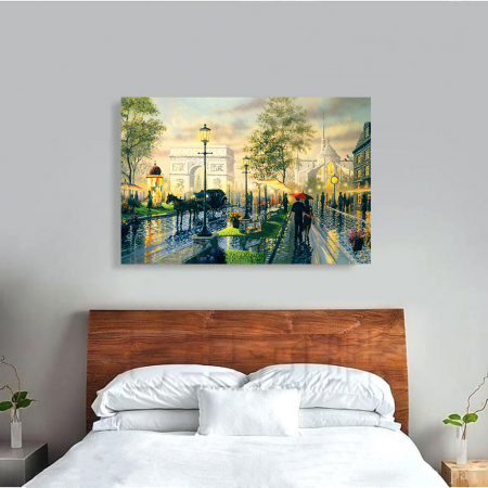 Tablou Canvas - Romantic walk1