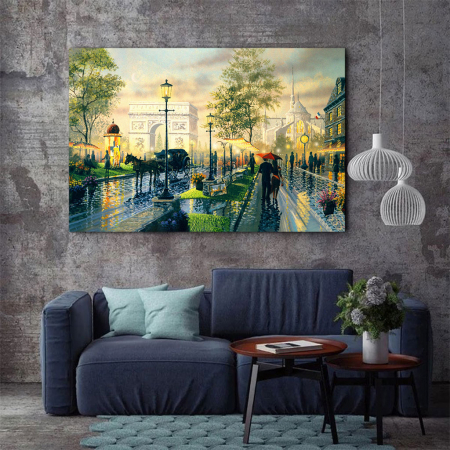 Tablou Canvas - Romantic walk3