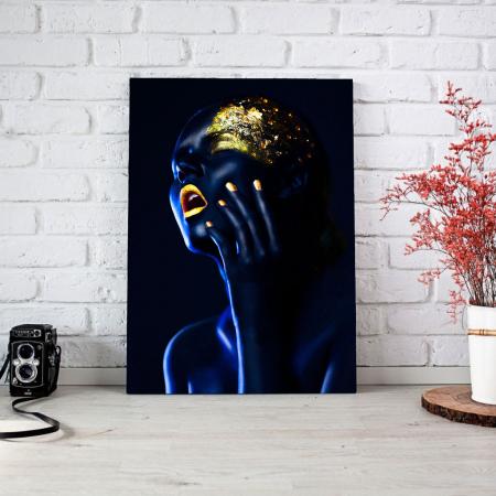Tablou Canvas - Body paint1