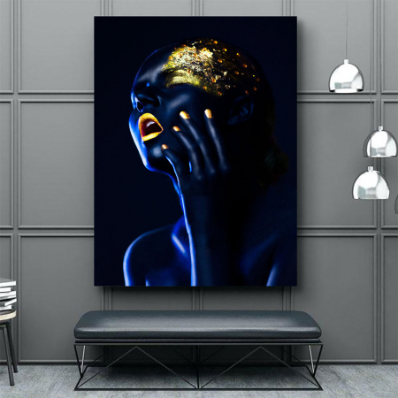 Tablou Canvas - Body paint4