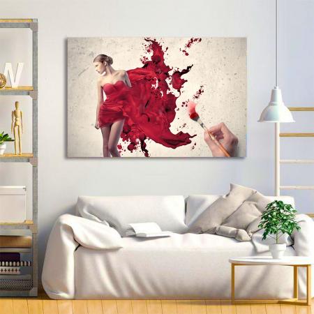 Tablou Canvas - Brush work1
