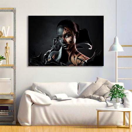 Tablou Canvas - Black style1
