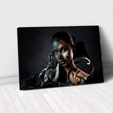 Tablou Canvas - Black style [0]