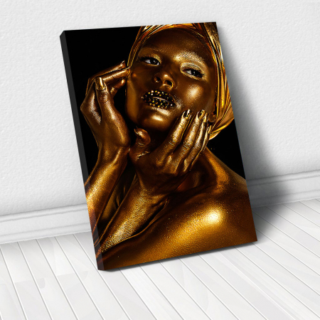 Tablou Canvas - African Gold I0