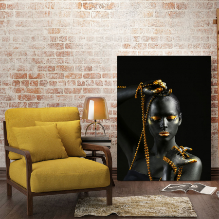 Tablou Canvas - Gold in new style1