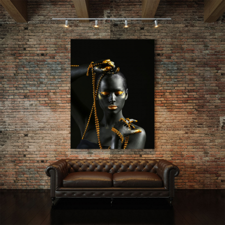 Tablou Canvas - Gold in new style2