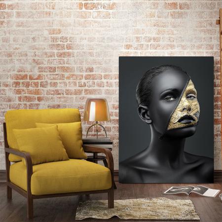 Tablou Canvas - News face1