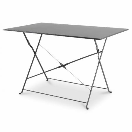 Masă de grădină cu 4 scaune metalică(gri) [1]