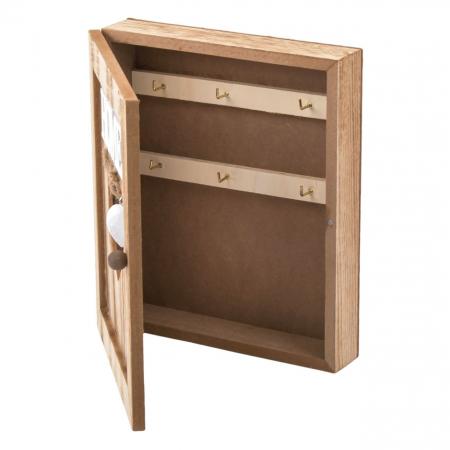 Suport din lemn pentru chei-21x6x261