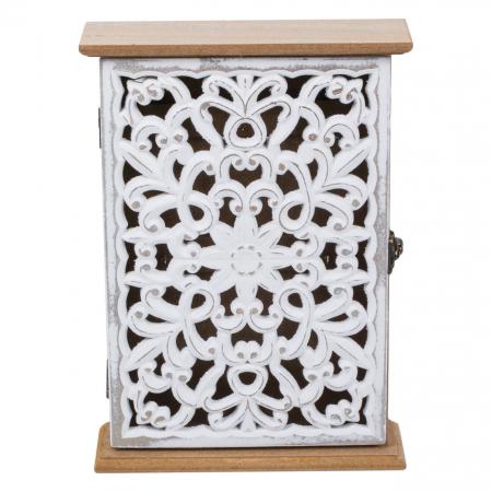 Suport din lemn pentru chei - 18.5x6x26cm0