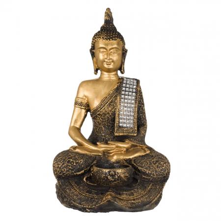 Suport lumânare Buddha -29cm1