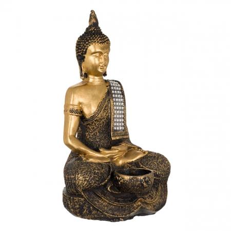 Suport lumânare Buddha -29cm2