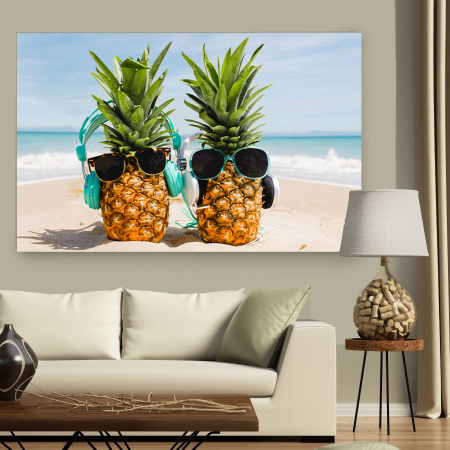 Tablou Canvas - Ananas Mood2
