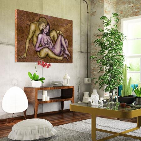 Tablou Canvas - Ilustratie artistica nud [1]