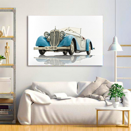 Tablou Canvas - Audi 225 roadster1