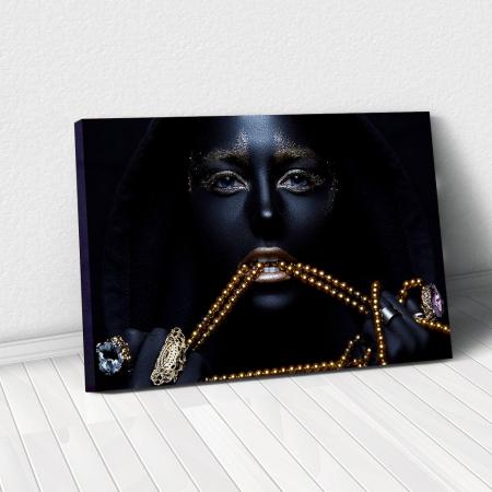 Tablou Canvas - Black & Gold0