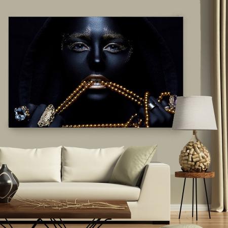 Tablou Canvas - Black & Gold2