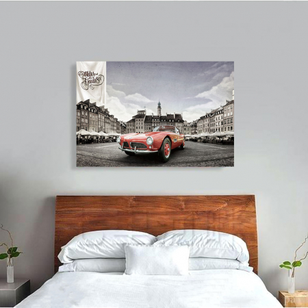 Tablou Canvas - Bmw 507 coupe1