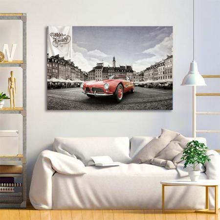 Tablou Canvas - Bmw 507 coupe3