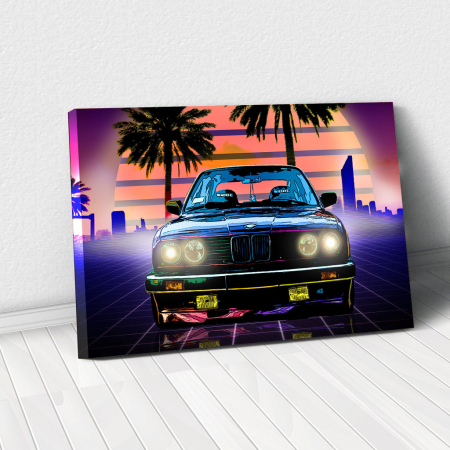 Tablou Canvas - BMW M3 (e30)0