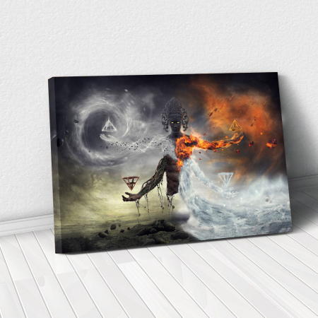 Tablou Canvas - Elemental0