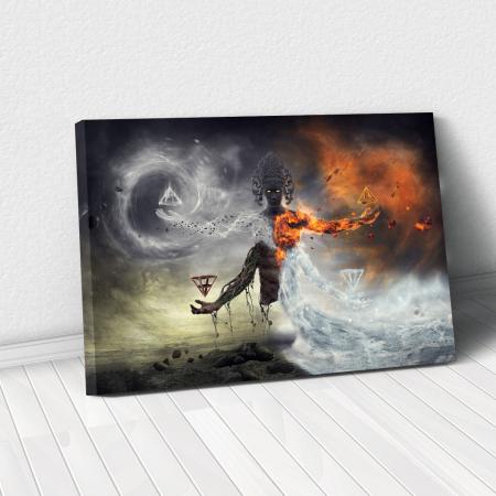 Tablou Canvas - Elemental [0]