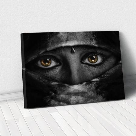 Tablou Canvas - Golden Eyes0