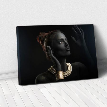 Tablou Canvas - Golden style [0]
