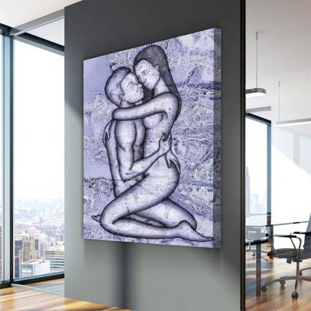 Tablou Canvas - Ilustratie Artistica nud  IV3