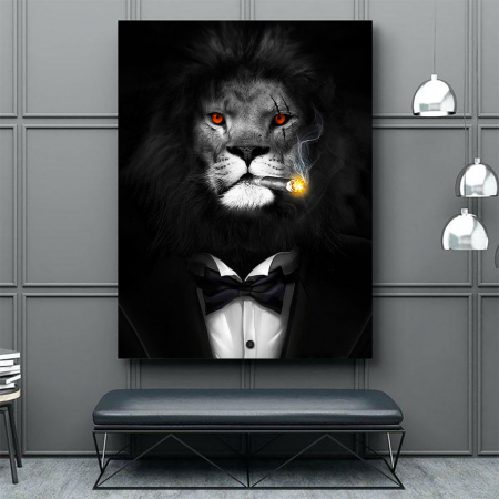 Tablou Canvas - Mob Lion4
