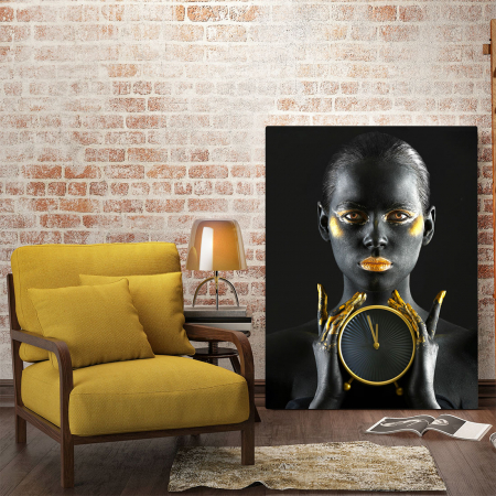 Tablou Canvas - Time is gold1