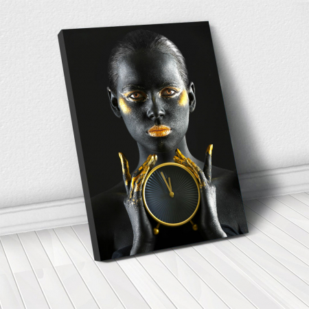 Tablou Canvas - Time is gold0