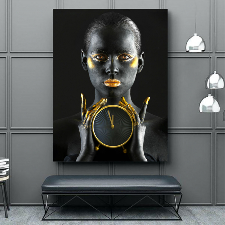 Tablou Canvas - Time is gold3