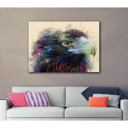 Tablou Canvas - Vultur - Cromatica2