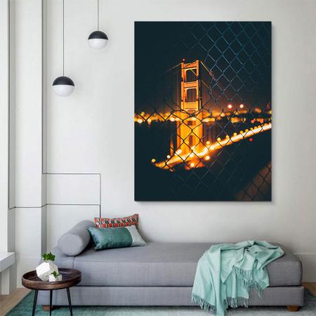 Tablou Canvas - Bridge view2