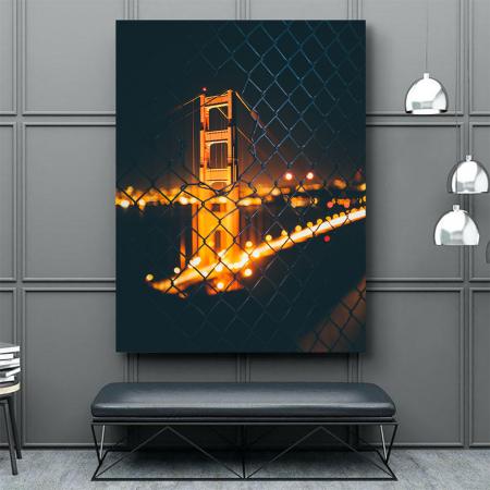 Tablou Canvas - Bridge view3