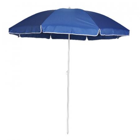 Umbrelă de plajă, 1.8 m, albastru [0]