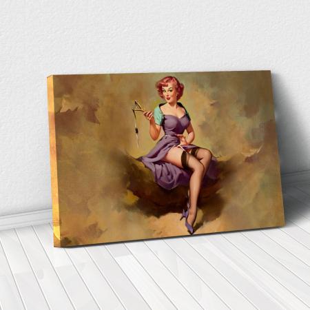 Tablou Canvas - Vintage style0