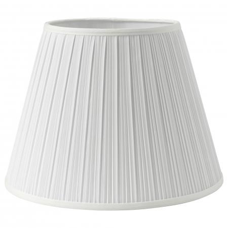 Veioză Briana cu cadru metalic, albă - 50cm1