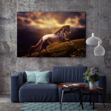 Tablou Canvas - Running horse1