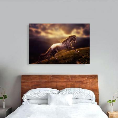 Tablou Canvas - Running horse [2]