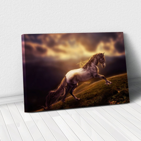 Tablou Canvas - Running horse0