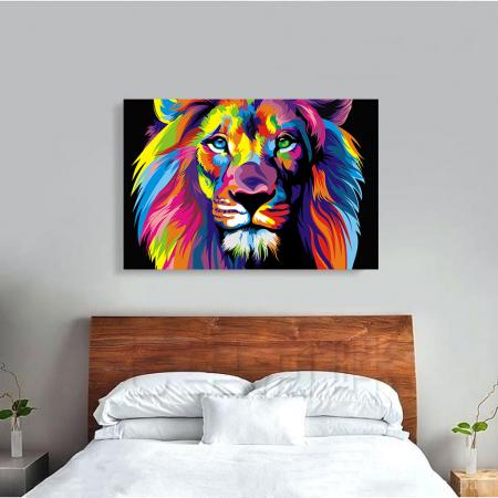 Tablou Canvas - Art Lion1