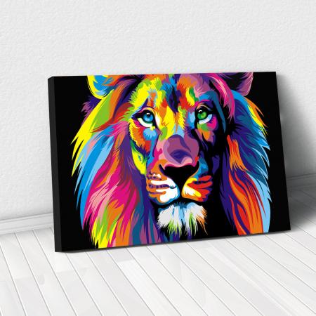 Tablou Canvas - Art Lion0