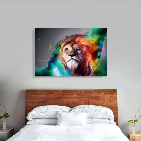 Tablou Canvas - Astra lion [3]