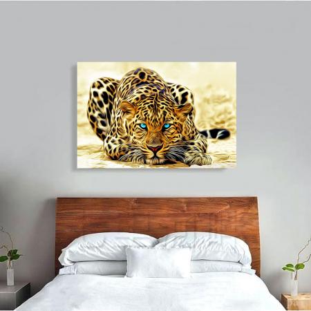 Tablou Canvas - Leopard3